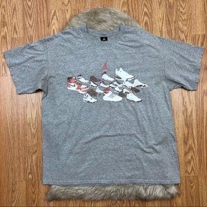 9dcc299057b093 Men s Jordan Shoe Shirts on Poshmark